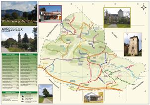 plan voirie Avressieux, urbanisme, territoire