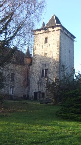 Tour Sarrazine, château de Montfleury, Avressieux, 73240, Savoie, tourisme