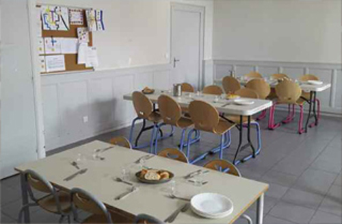 cantine, services periscolaires, avressieux