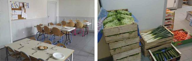 Ecole des platanes, Avressieux, Savoie, 73240, cantine
