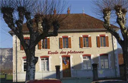 Ecole des platanes, Avressieux, Savoie, 73240