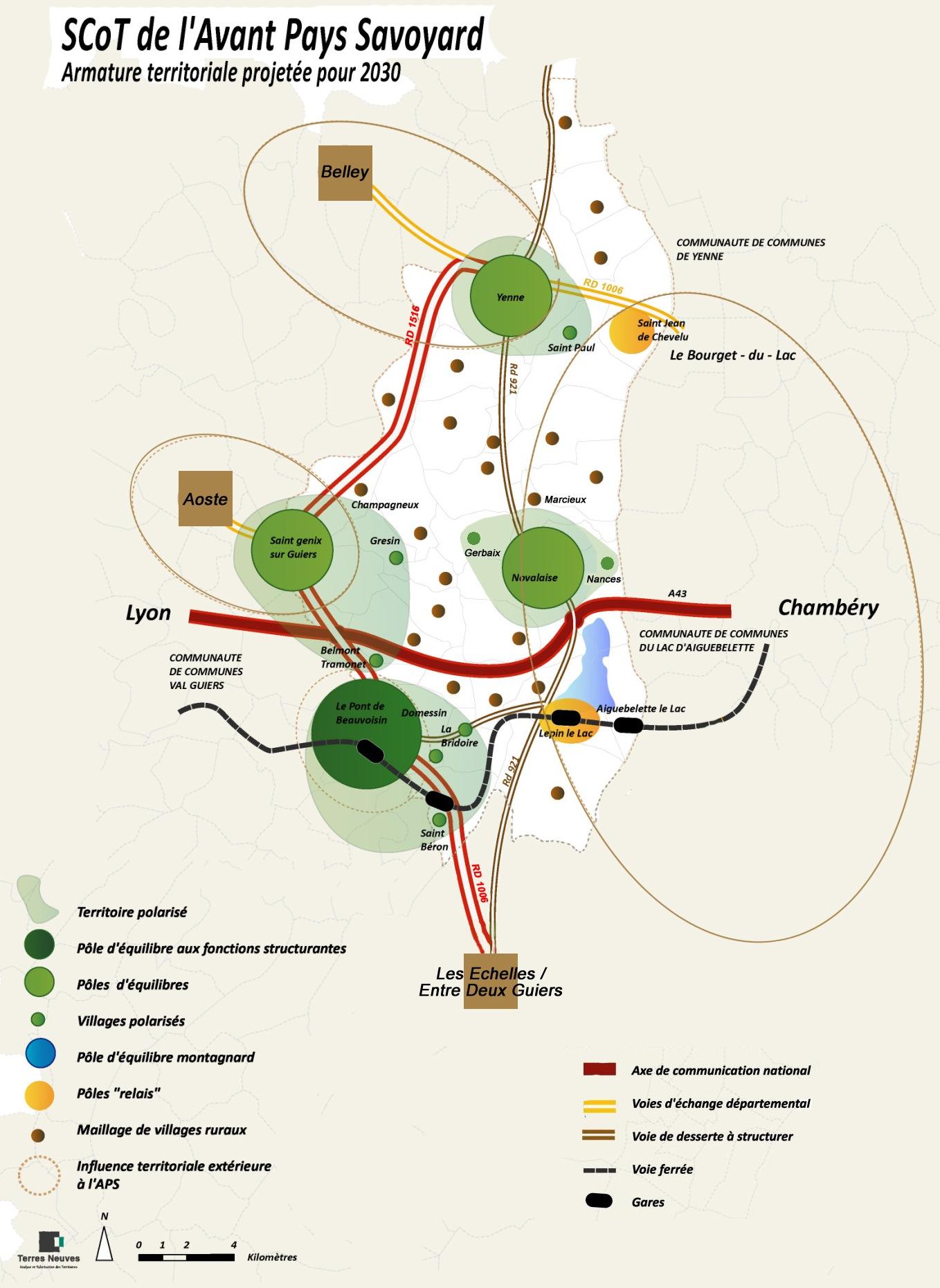 SCOT, schéma de cohérence territoriale, Avressieux, Avant-pays savoyard