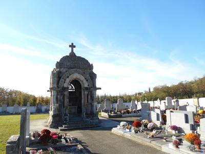 mausolee, cimetiere, , avressieux, horloges, 73, savoie, tourisme, curiosites