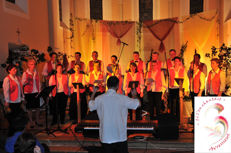Groupe vocal, si l'on chantait, Avressieux, chorale