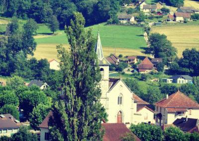 Avressieux - l'église