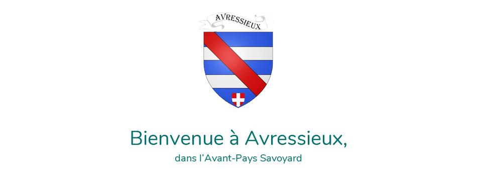 Bienvenue à Avressieux, commune de l'Avant-Pays Savoyard - Écusson - Logo - 73, Savoie