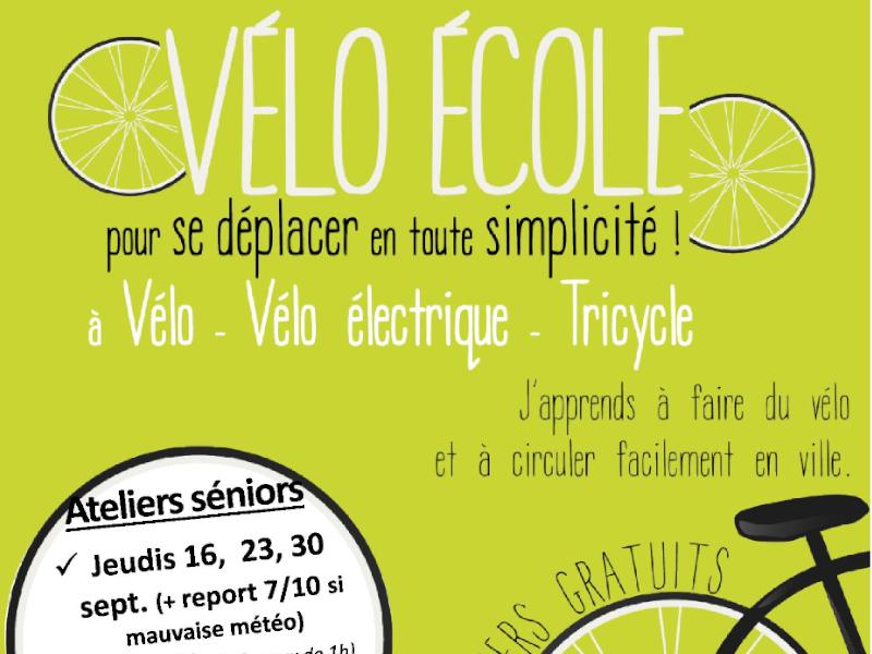 Vélo école – Pour se déplacer en toute simplicité