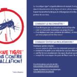 Information pour la lutte contre le moustique tigre